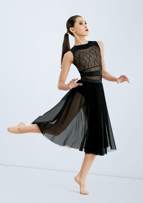 Messed Up Masterpiece Skirt [Black]T