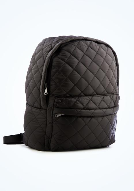 Capezio Technique Backpack Black Front-1T [Black]
