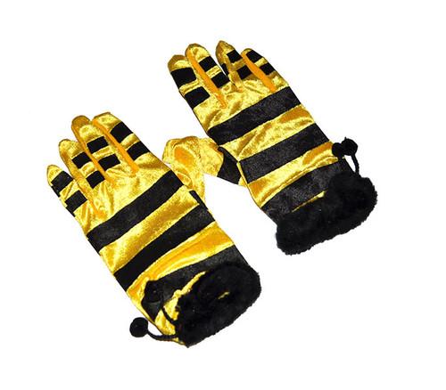 Bumblebee Gloves Black-Yellow. [Black-Yellow]