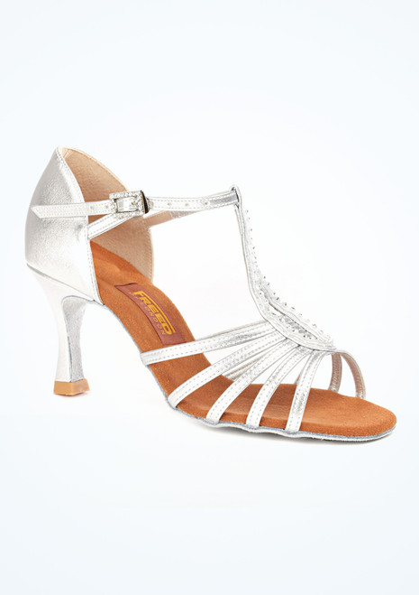 """Freed Audrey Dance Shoe 2.5 Silver. [Silver]"""""""