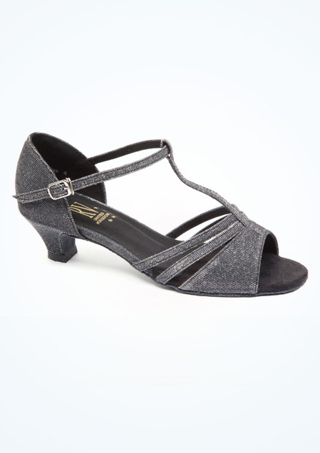 Roch Valley Evie Ballroom Shoe 1.2 Black. [Black]""