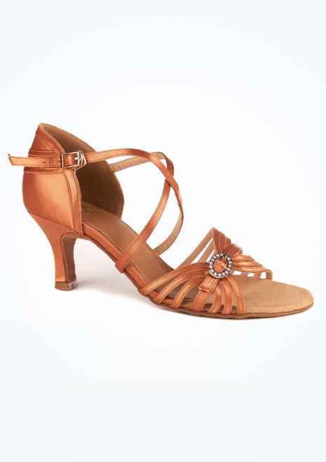 Move Genene Dance Shoe 2.33 Tan. [Tan]""