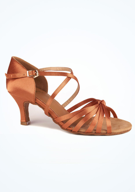 Move Sadie Dance Shoe 2.33 Tan side. [Tan]""
