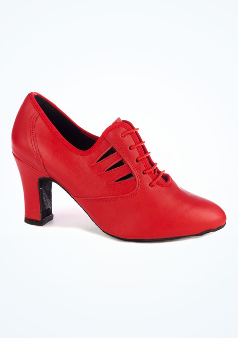 """Freed Naples Practice Dance Shoe 2.75 Red. [Red]"""""""