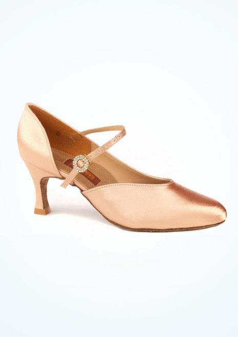 Freed Elegance Ballroom Shoe 2.5 Tan. [Tan]""
