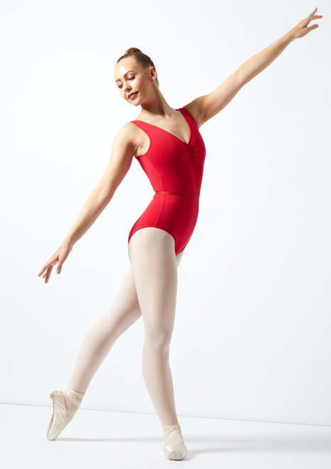 Freed Faith RAD Leotard Red front. [Red]