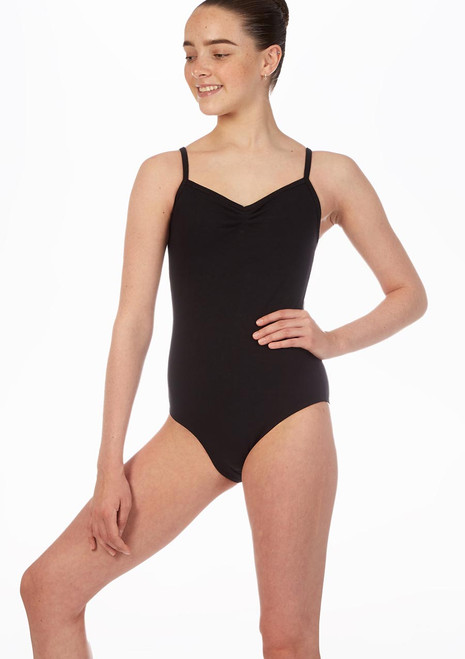 Move April Leotard Black front. [Black]