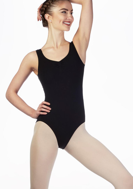 Move Loren Leotard NEW Black front. [Black]