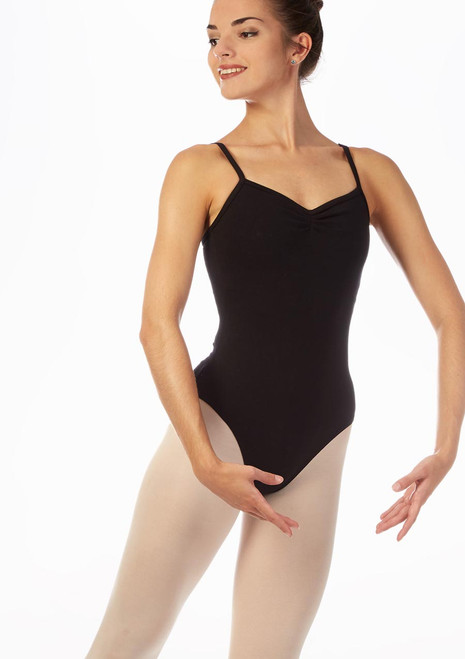 Move Lexie Leotard NEW Black front. [Black]