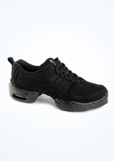 Bloch Boost Canvas Dance Sneaker Black. [Black]