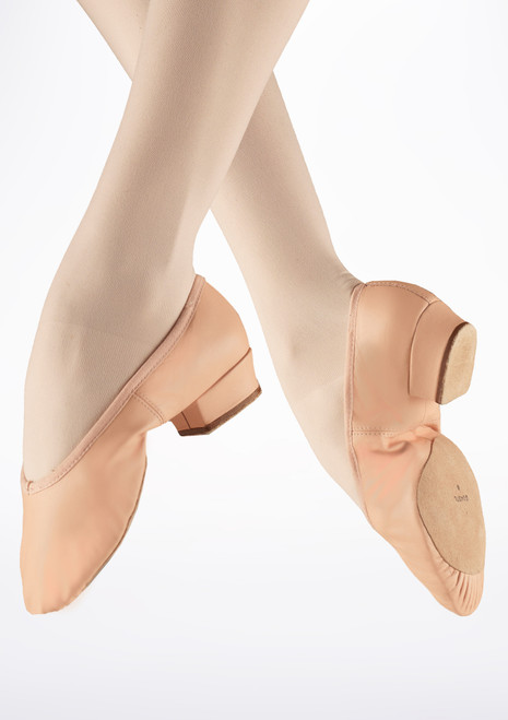 Bloch Paris Teaching Ballet Shoe Pink. [Pink]