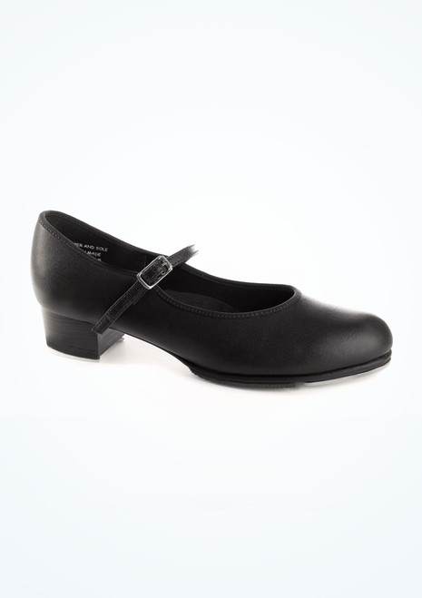 Capezio Cuban Buckle Tap Shoe Black. [Black]