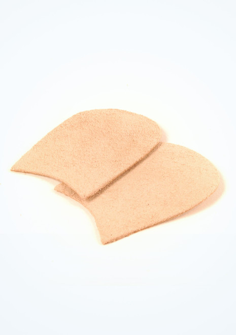 Capezio Suede Pointe Shoe Toe Patches Tan. [Tan]