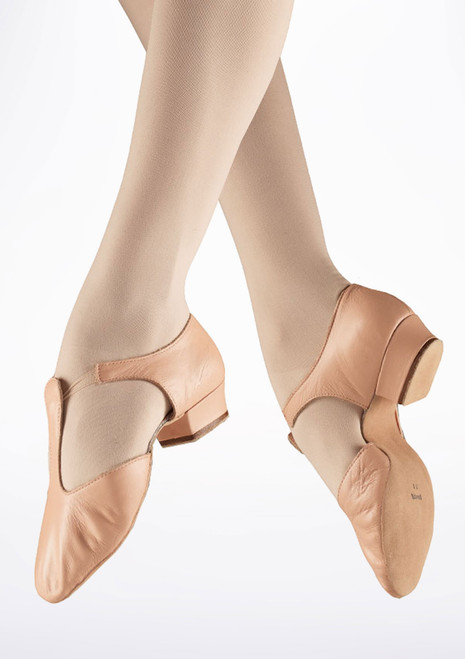 Bloch Greek Sandal Ballet Shoe Pink. [Pink]