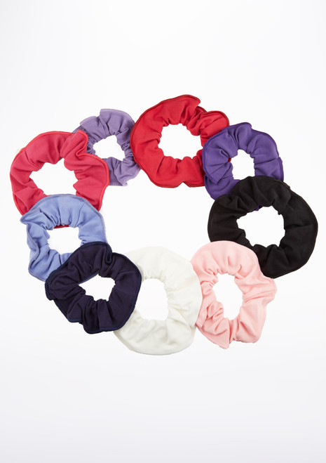 Tappers & Pointers Cotton Lycra Hair Scrunchie Multi-Colour main image.