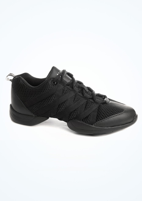 Bloch Criss Cross Dance Sneaker Black. [Black]