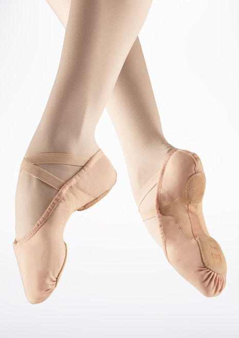 Bloch Proflex Split Sole Canvas Ballet Shoe Pink. [Pink]