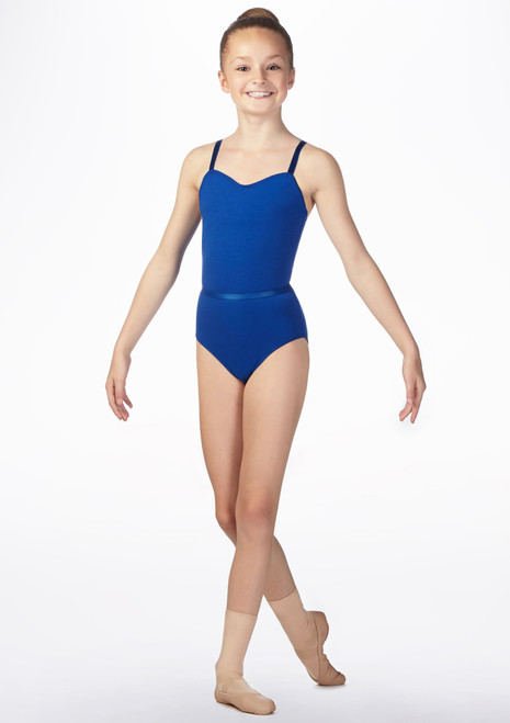 Freed Jane RAD Kids Leotard Blue front. [Blue]