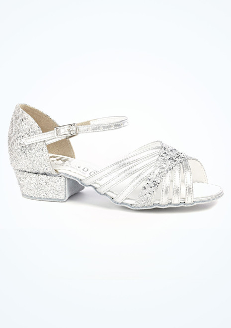 Freed Sparkle Ballroom Shoe 1 Silver. [Silver]""