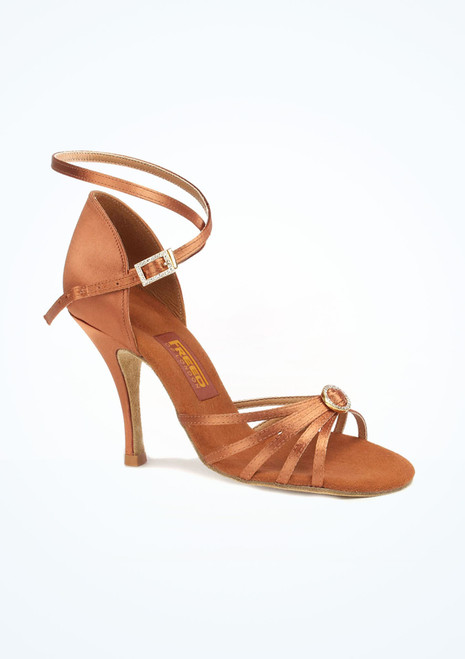 Freed Sophia Salsa & Tango Shoe 3.5. [Tan]""