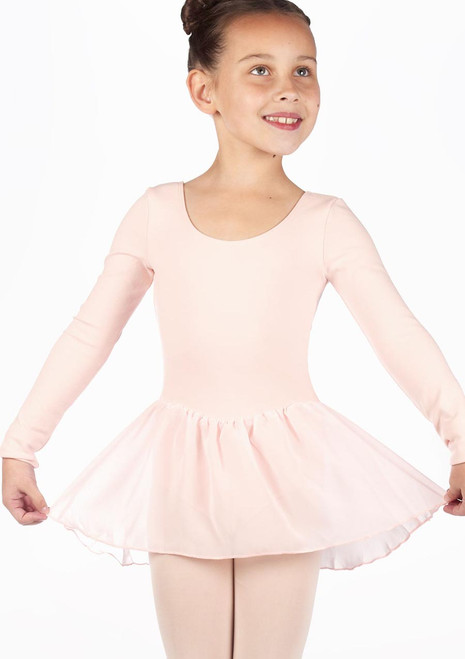 Bloch Petal Skirted Leotard Pink. [Pink]