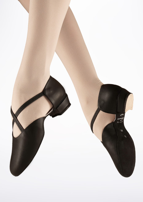 Freed Teaching Ballet Shoe Black. [Black]