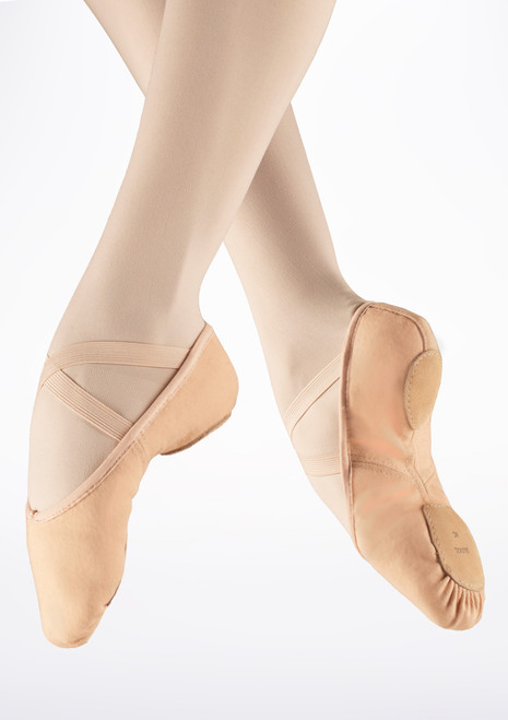 Bloch Zenith Split Sole Ballet Shoe Pink. [Pink]