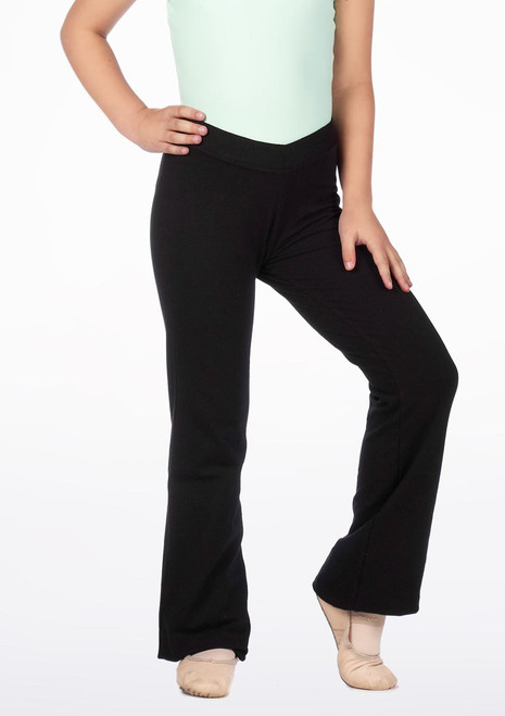 Move Robyn Kids Jazz Pants Black. [Black]