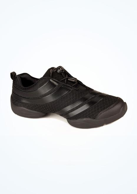 Capezio Spira Dansneaker Black. [Black]