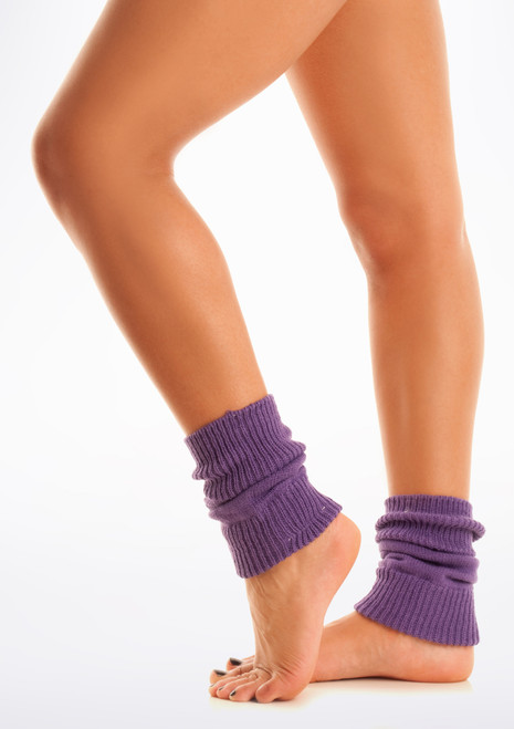 Tappers & Pointers Kids Legwarmers Purple. [Purple]