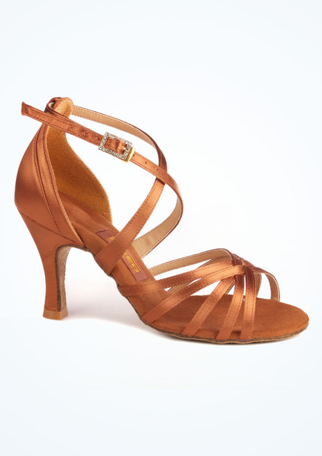 Freed Lorraine Salsa & Tango Shoe 3. [Tan]""