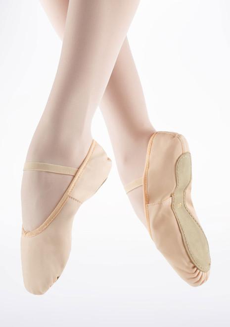 Merlet Envol Full Sole Ballet Shoe Pink. [Pink]