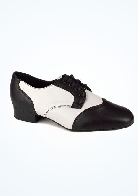 Freed Lucas Ballroom Shoe 1 Black-White. [Black-White]""