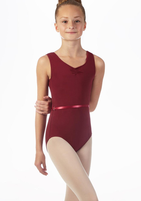 Move Jessica Leotard NEW Red front. [Red]