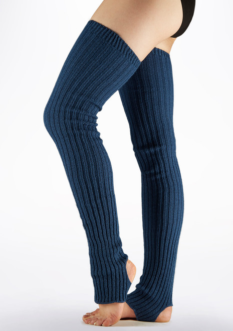 Intermezzo Maxical Legwarmers 90cm Blue main image. [Blue]