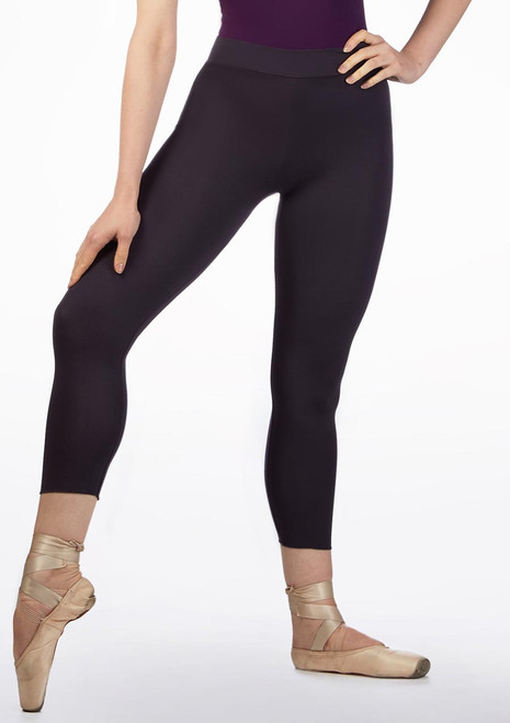 Ballet Rosa Stretch Bamboo Leggings Grey front. [Grey]