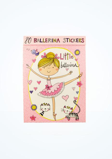 Intermezzo Ballerina Stickers Pink front. [Pink]