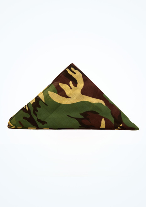 Camouflage Bandana Patterned top. [Patterned]