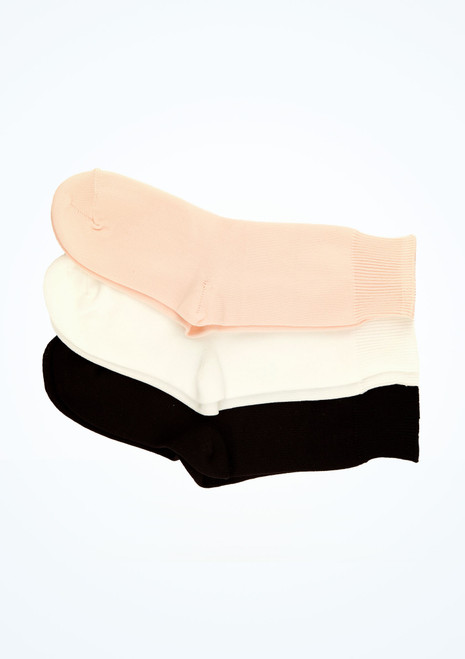 Freed Ballet Socks Black front. [Black]
