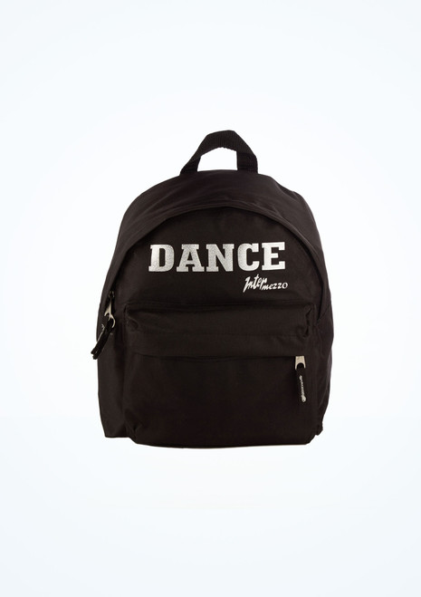 Intermezzo Dance Backpack Black front. [Black]