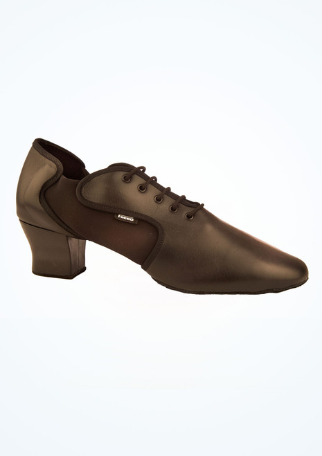 Freed Mens Tempo Split Latin Shoes 2 Black main image. [Black]
