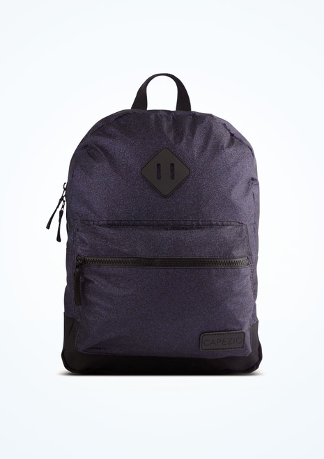 Capezio Shimmer Backpack Purple front. [Purple]