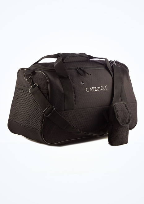 Capezio Rock Star Duffle Bag Black front. [Black]
