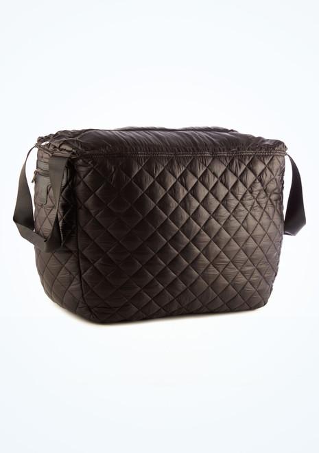 Capezio Technique Duffle Bag Black front. [Black]