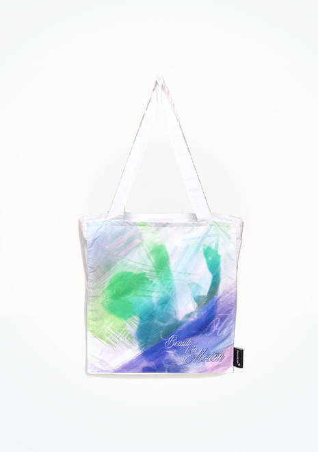 DanzArte Shoulder Tote Dance Bag - Multicolour Multi-Colour. [Multi-Colour]