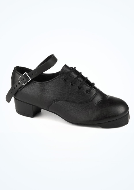 Goleen Featherflexi Pro Irish Dancing Jig Shoe Black. [Black]