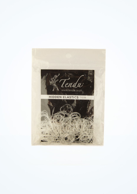 Tendu Hair Elastics Clear main image. [Clear]