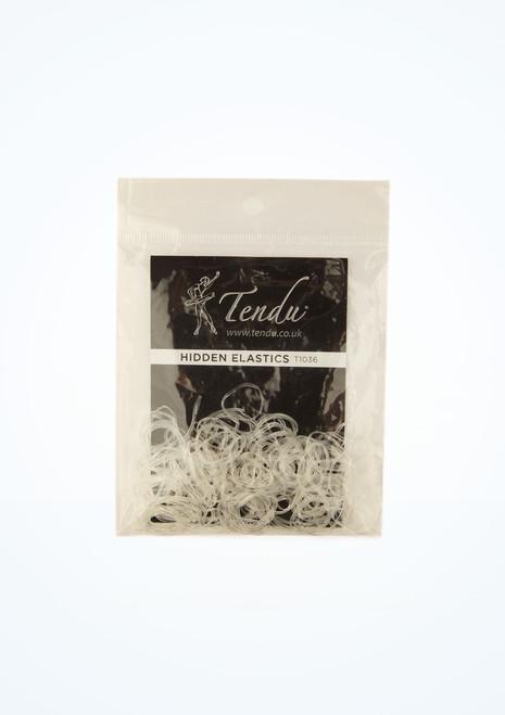 Tendu Hair Elastics Clear main image. [Clear]