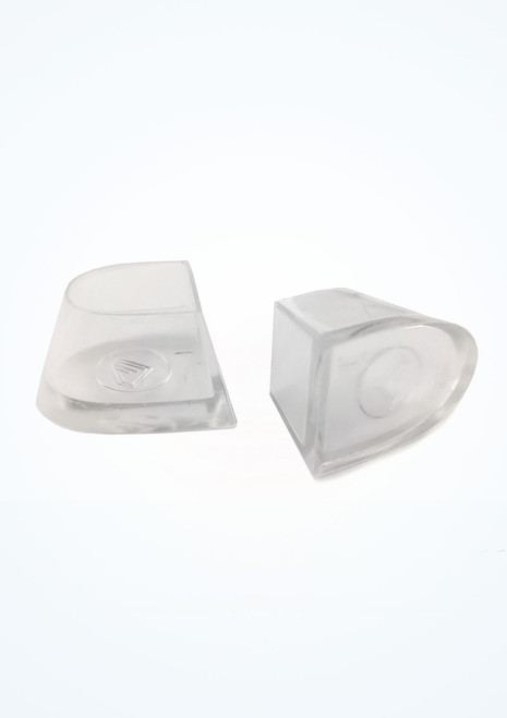 Heel Covers Type 1 Clear Ballroom Shoe Accessories [Clear]