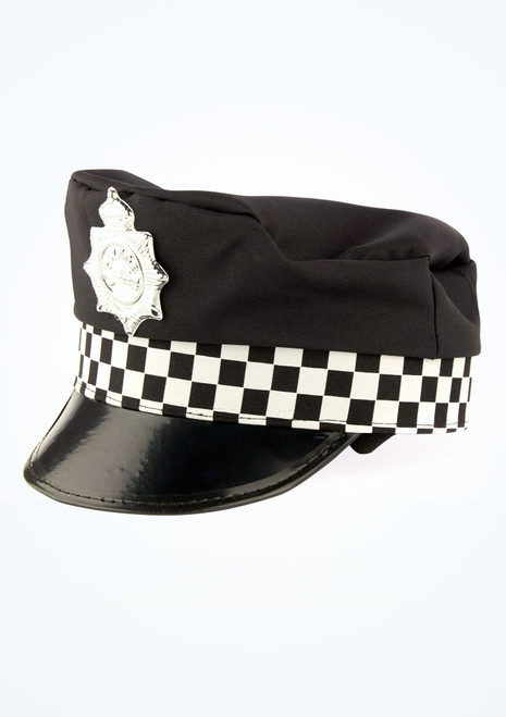Police Officer Hat Black main image. [Black]